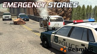 "Emergency Stories [7] (Short Stories) - BeamNG Drive - ""Rock Slide"""