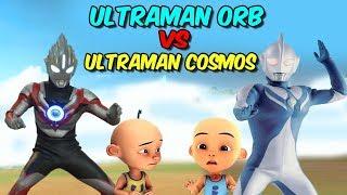 Gambar cover Upin Ultraman Orb vs ipin Ultraman Cosmos