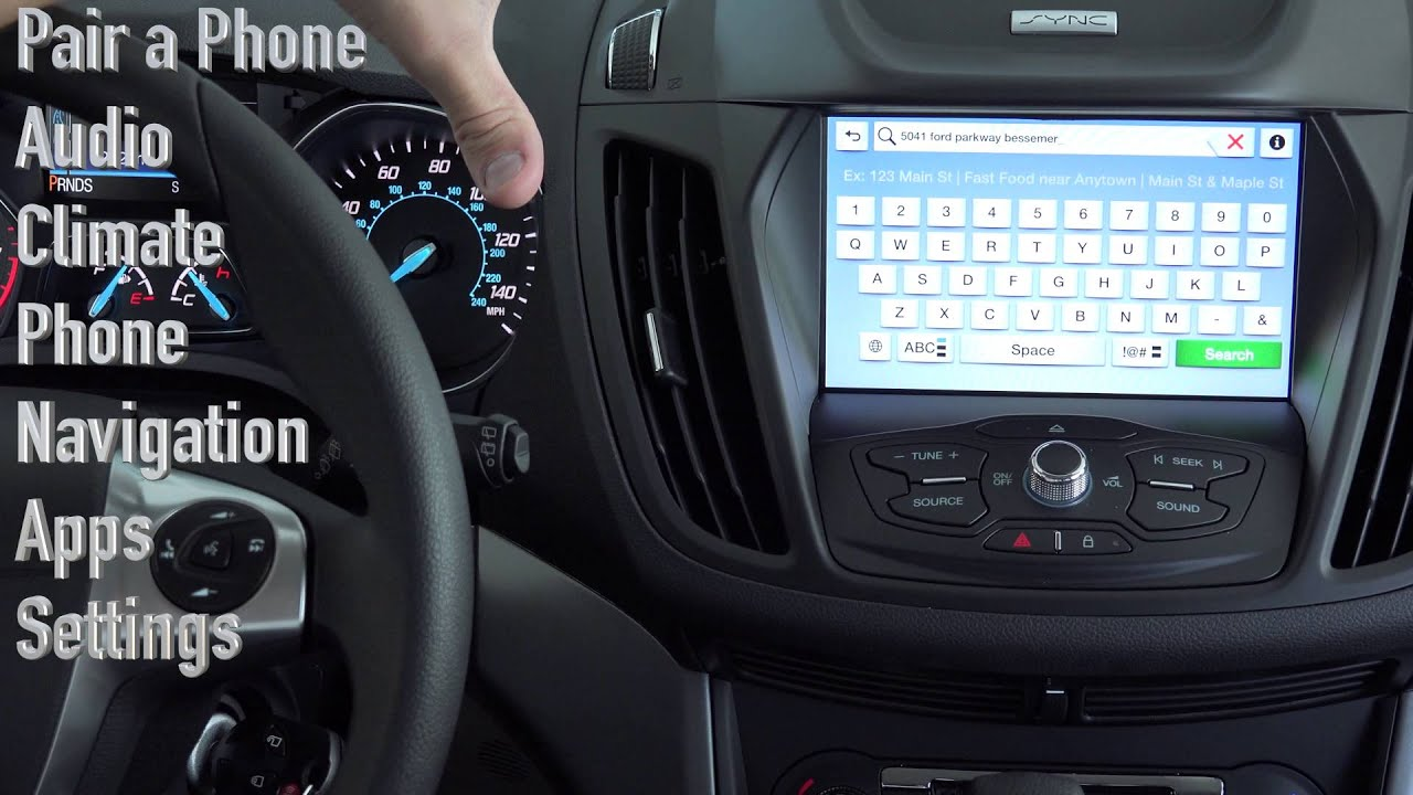 ford s sync 3 hands on full tutorial youtube rh youtube com Sony Navigation Controller Navigation System