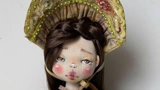 """Совместный пошив """"Кукла Антонина в стиле шебби шик"""""""