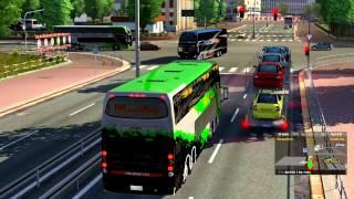 Euro Truck Simulator 2 Bus trip to Cordoba with Busscar Panoramico DD 8x2 Final