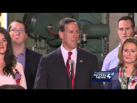 Rick Santorum announces run for President