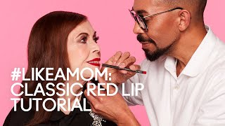 #LIKEAMOM: Classic Red Lip Tutorial | MAC Cosmetics