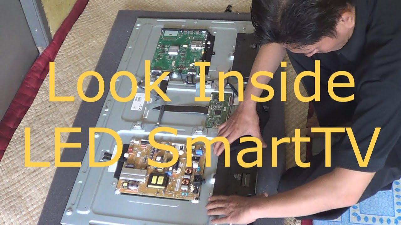 Look Inside Led Smart Tv Youtube