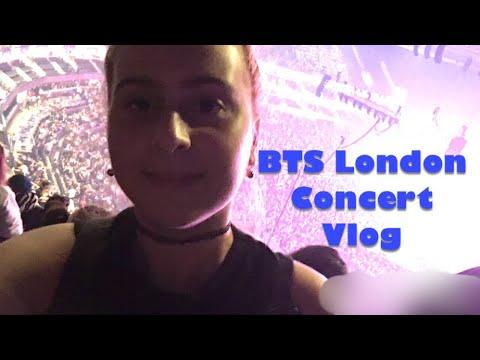 BTS Love Yourself London O2 Arena Concert 2018 VLOG