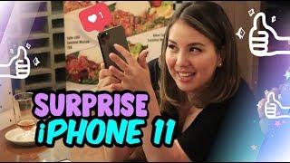 WOW SURPRISE IPHONE 11 buat TYA ARIESTYA