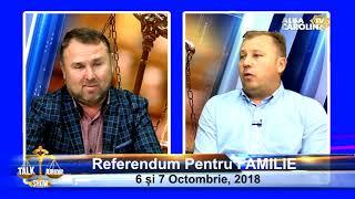 Referendum pentru FAMILIE,  Da sau NU,  la TALK SHOW JURIDIC