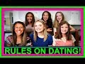 RULES ON DATING! | RULE BOOK!