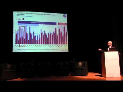 Apresentação da Edelman Trust Barometer 2014