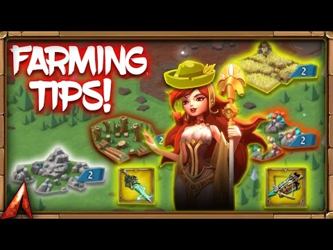 Lords Mobile Farming Guide!