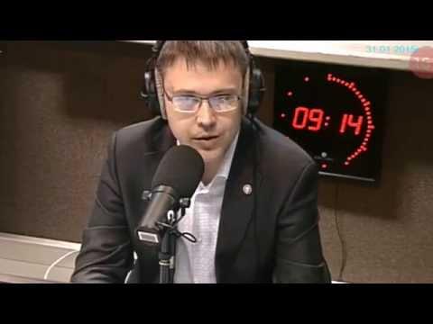 "Алексей Горшков на радио ""Маяк"""