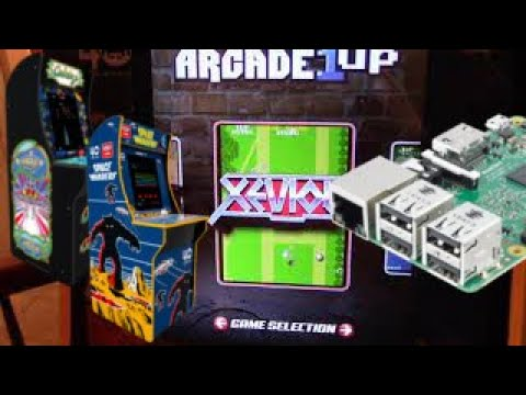 Arcade1up Mod Space Invaders / Galaga from Holly