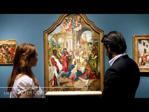 Old Master Paintings Preview - Auction 9 June 2020