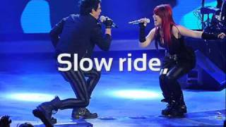 Adam Lambert & Allison Iraheta - Slow Ride (Studio version)
