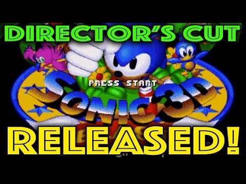 Sonic 3D Director's Cut BETA Released!