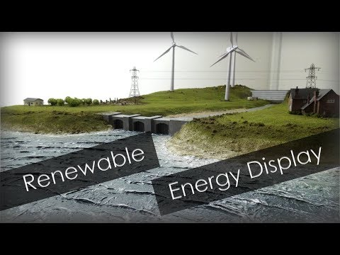 I made this! Renewable Energy Model