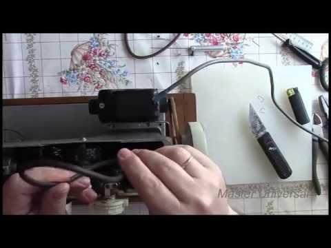 Швейная машина Подольск 142. Как сделать большой стежок. Видео№86.