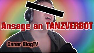 Ansage an TANZVERBOT!