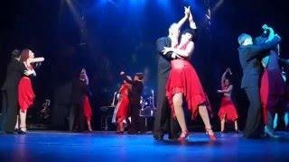 Танго. Танцуют Анастасия Светлова Николай Шрайбер и актёры Волковского театра.