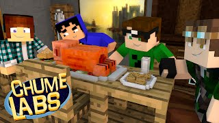 Minecraft: JANTAR DOS YOUTUBERS! (Chume Labs 2 #73)