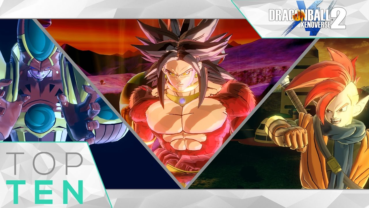 Top Ten Greatest Mods Dragon Ball Xenoverse 2 Mods Of November 2016 Top 10