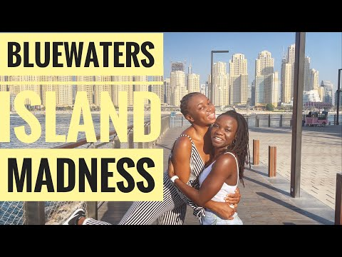 Bluewaters Island  2021 | 4k Tour | Fun | Caesars Palace | Cove Beach | Dubai tourist attraction |
