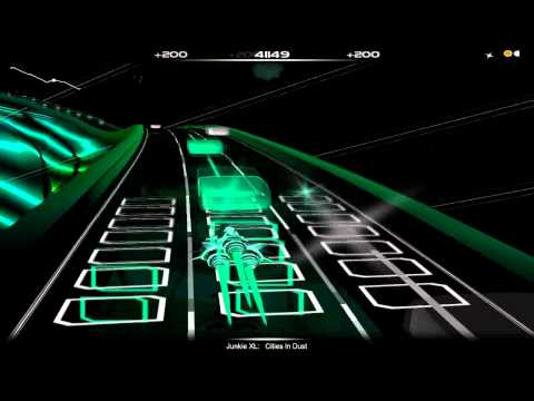 Junkie XL - Cities in Dust (Audiosurf)