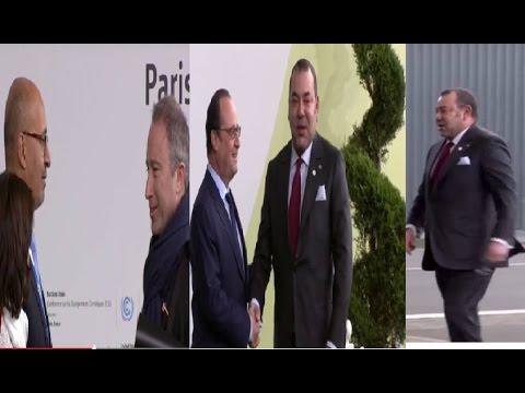 Petit Journal Arrivée du Roi Mohamed VI à la COP 21