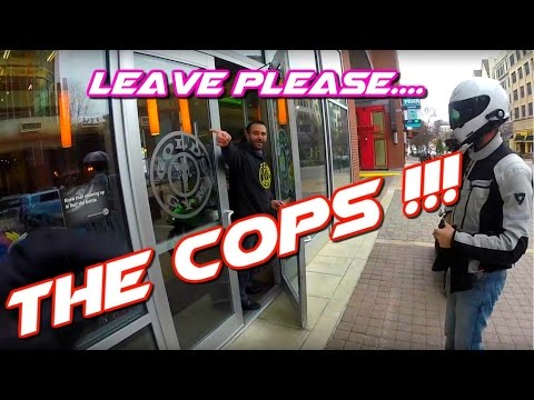 ZX6R VS ZERO FXS | The Police will give you a Big Fine