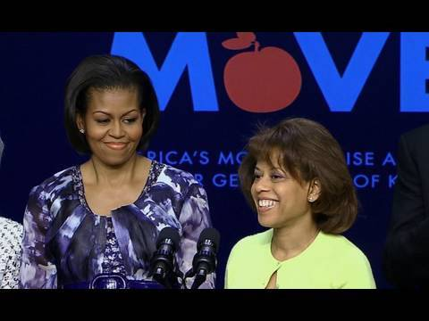 The First Lady Unveils Childhood Obesity Task Force Action Plan