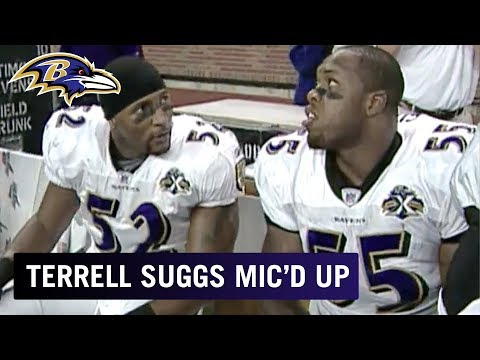 Terrell Suggs Mic'd Up vs. Lions 'Hit Anything Moving' | Baltimore Ravens