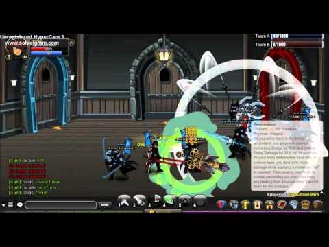 AQW Guild war pvp !!!! FROZEN AURA!!!!!