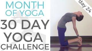 Day 24 - Break Free // #MonthOfYoga - 30 Day Yoga Challenge