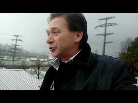 И в Сочи выпал снег.