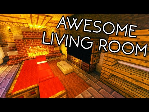 how-to-build-an-awesome-living-room-in-minecraft!---tutorial