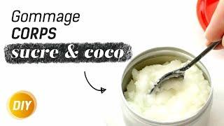 Comment faire un gommage minute pour le corps à l'huile de coco ? - DIY