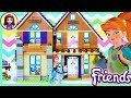 Lego Friends Mia's House Build Part 1 Review for Kids