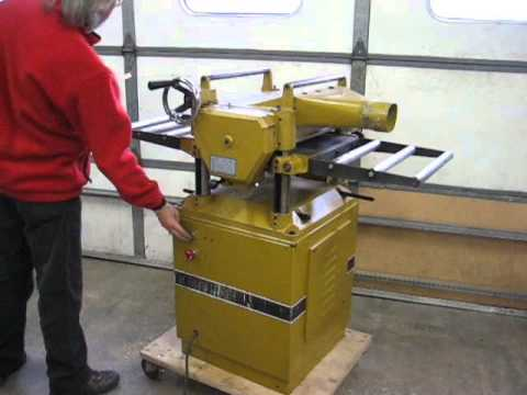 Powermatic 150 Planer