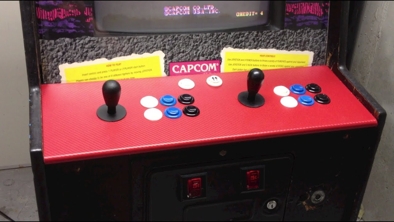 07 Arcade Control Panel Rebuild Street Fighter 2 Youtube