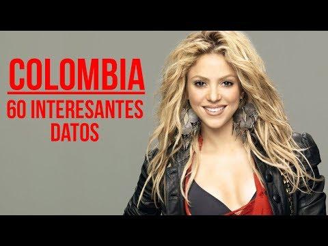 60 Datos INTERESANTES De Colombia
