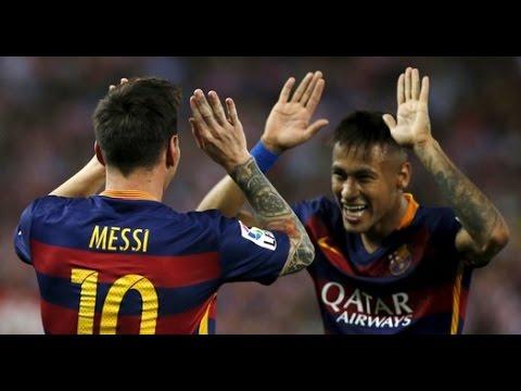 Atlético Madrid vs Barcelona 1-2 | Goals & Highlights (12/09/15) HD