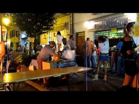 Nightlife in Rimini Italy July 2013