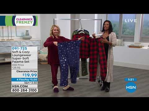 HSN | Soft & Cozy Loungewear Clearance Frenzy . http://bit.ly/2FwJ1RD