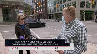 How many women were elected to parliament in the 2019 federal election? | Outburst