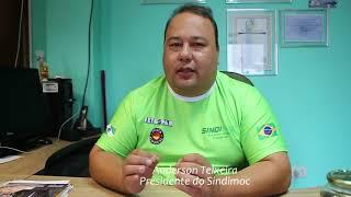 Anderson Teixeira atualiza a categoria sobre andamentos da negociação salarial 2018