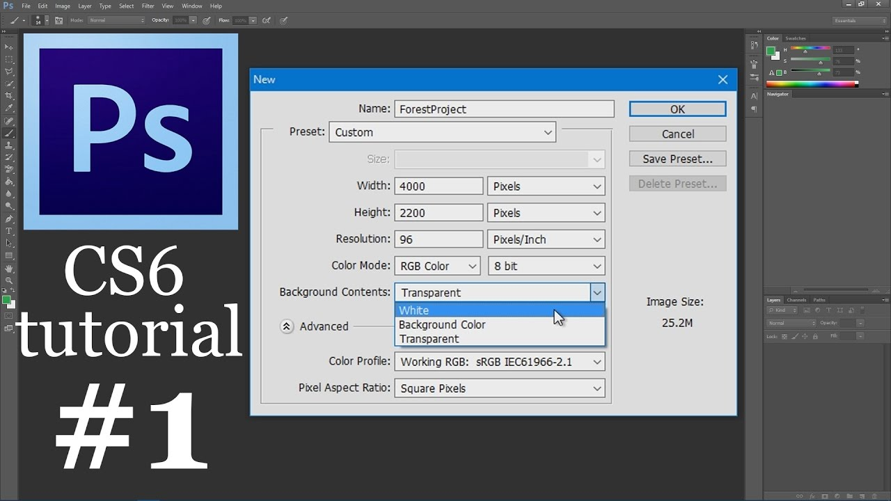 Photoshop cs6 tutorial for beginners how to create a new worksheet photoshop cs6 tutorial for beginners how to create a new worksheet baditri Image collections