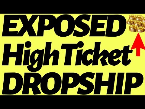 How To High Ticket Dropship (EXPOSED) thumbnail