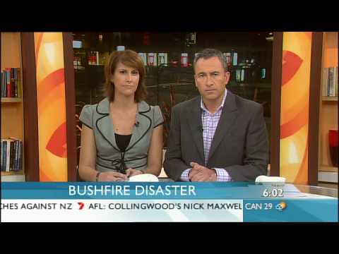 Bushfires in Victoria - Monday Sunrise Broadcast