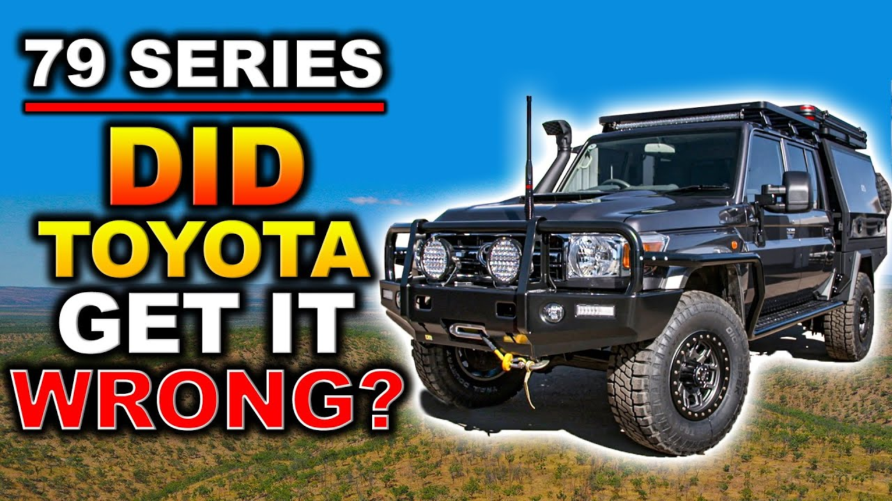 The LandCruiser Toyota SHOULD HAVE built! We fix all the problems with 79 Series & YOU CAN WIN IT!