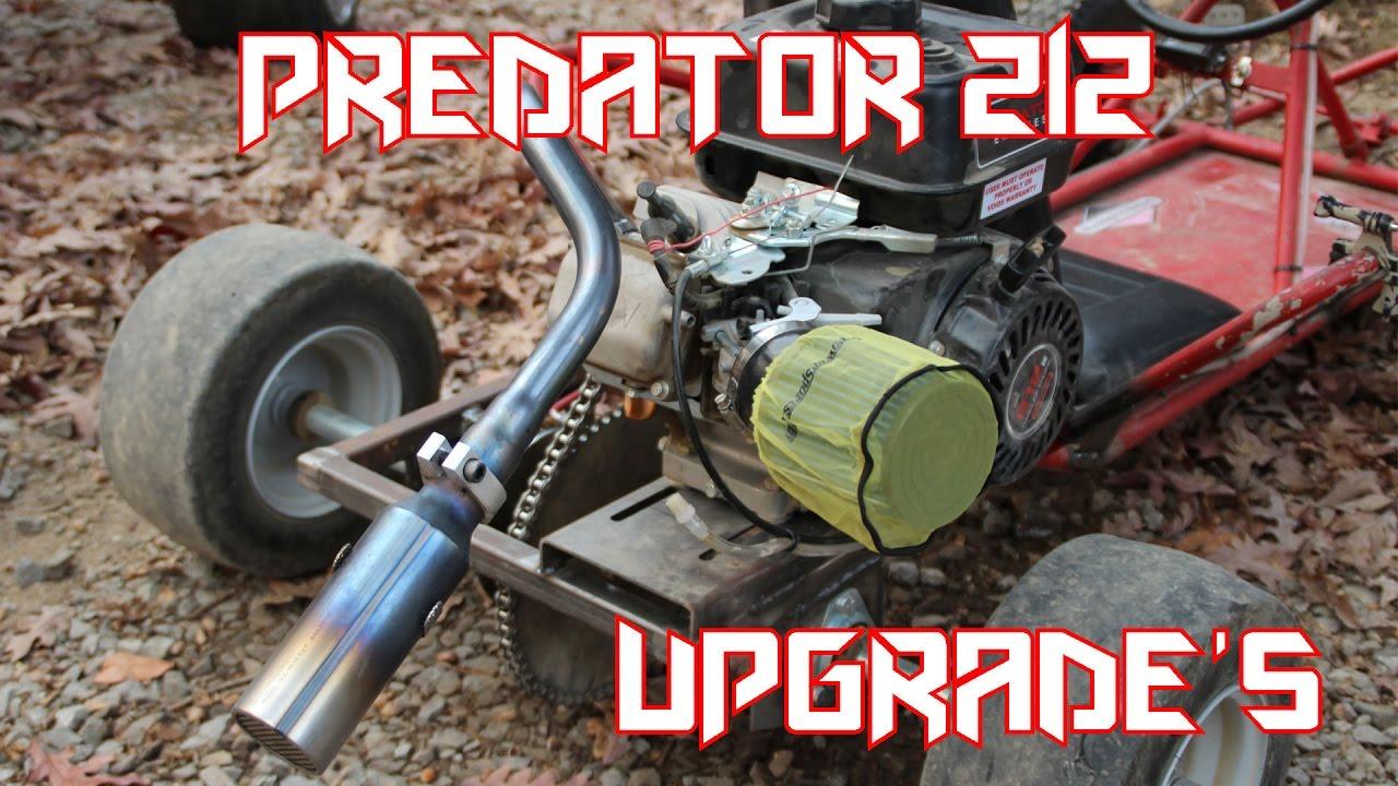 Predator 212 Hemi Go Kart Performance Upgrades (Little Red)